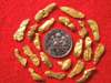 20 Premium Jewelry Grade California Gold Nuggets - For Pendants