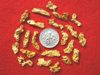 22 Premium Jewelry Grade Australia Gold Nuggets - For Pendants