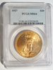 1927 St.Gaudens PCGS MS64 $20 Double Eagle Gold Coin