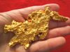Rare Crystalline Australian Gold Nugget Shaped Like a Dragon