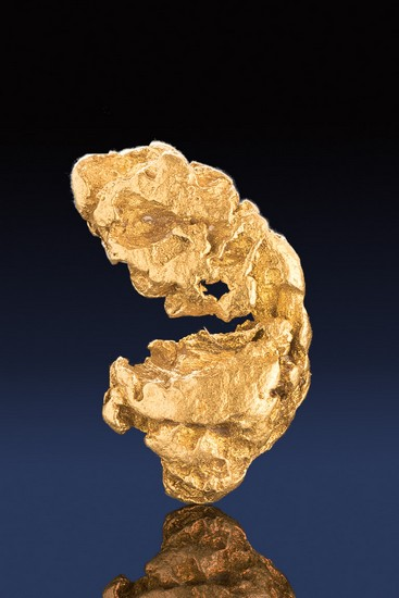 Unique Shape - Beautiful Natural Alaskan Gold Nugget