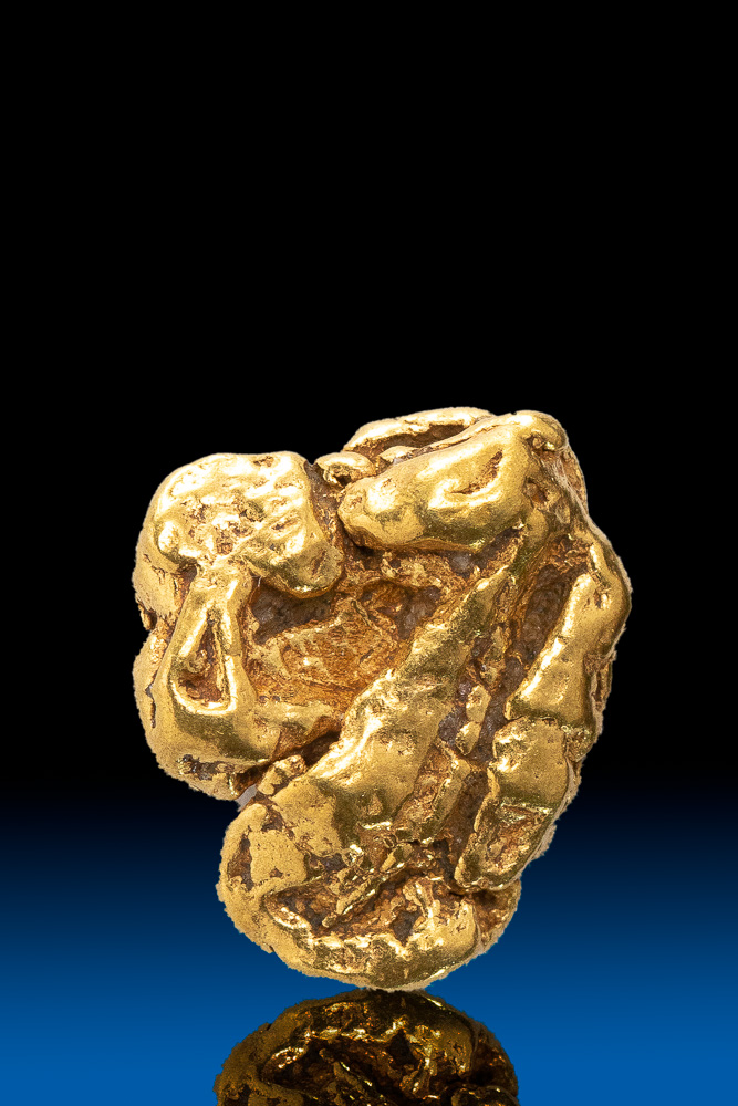 Designed by Nature Alaska Gold Nugget - 2.27 grams