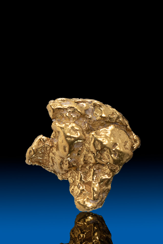 Armed Natural Alaska Gold Nugget - 2.44 grams