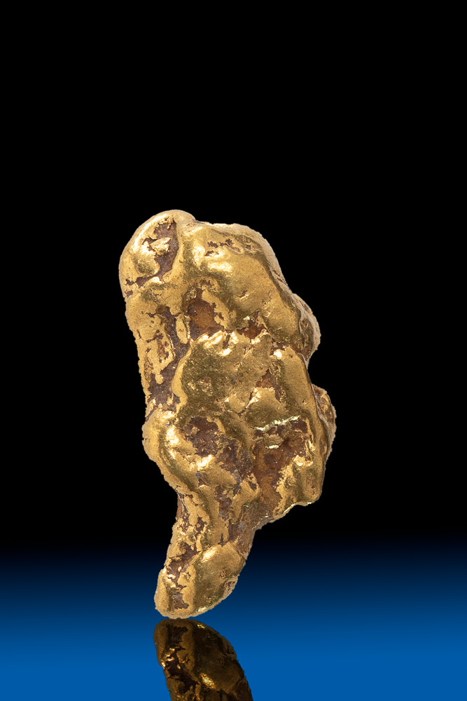 Pointed Oblong Natural Alaskan Gold Nugget - 2.81 grams