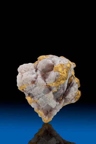 Quartz Infused Alaska Gold Nugget - 2.37 grams