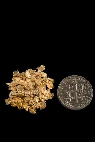 #10 Screen Alaska Gold Nuggets 18 - 25 Gold Nuggets per Gram