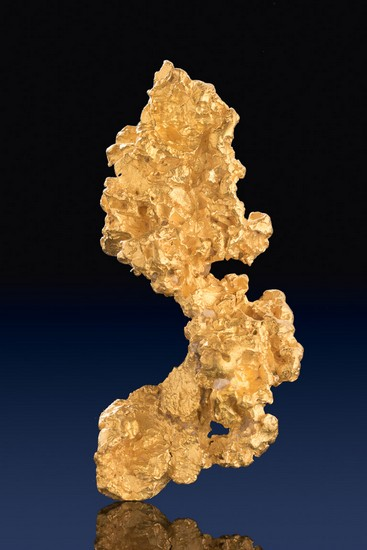 Spectacular Australian Gold Nugget - Beautiful Gold Color