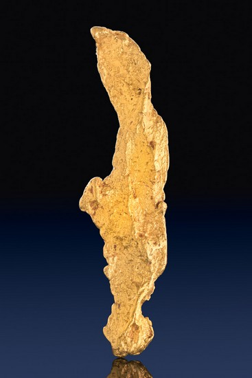 Australian Gold Nugget - Super Long and tapered point