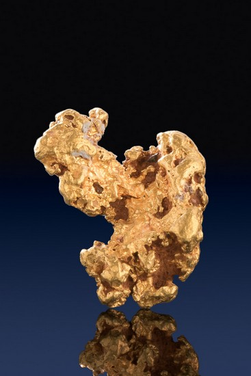 Carousel Horse Shaped Natural Raw Gold Nugget