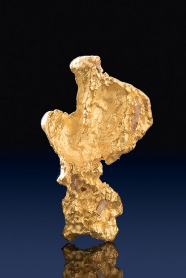Jewelry Grade Gold Nugget Shaped Like a Rubber Ducky