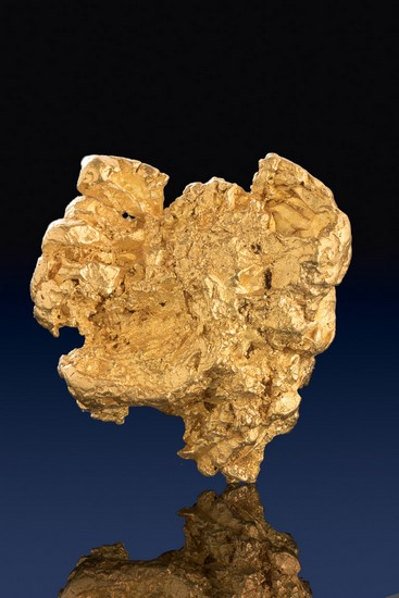 Spectacular Australian Gold Nugget with Gold Crystals