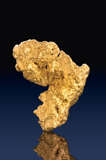 Coarse and Intricate Gold Nugget from Australian - Jewelry Grade