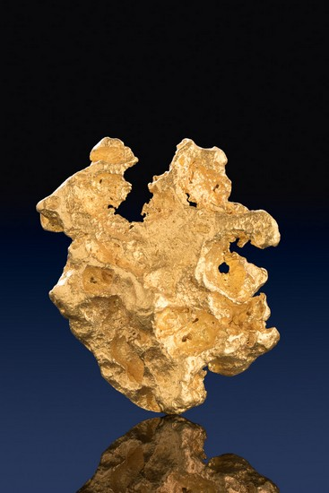 Unique Jewelry Grade Australian Gold Nugget