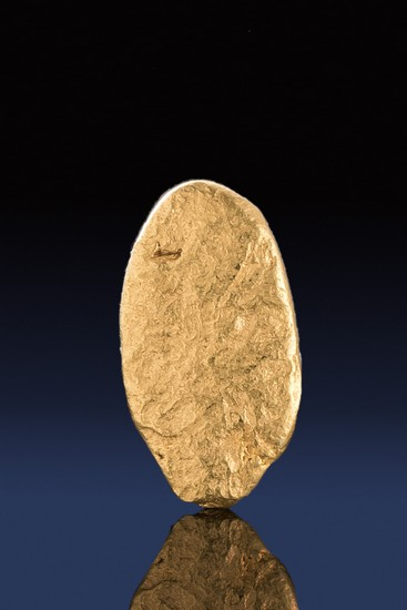 Oval Shaped Natural Gold Nugget from California