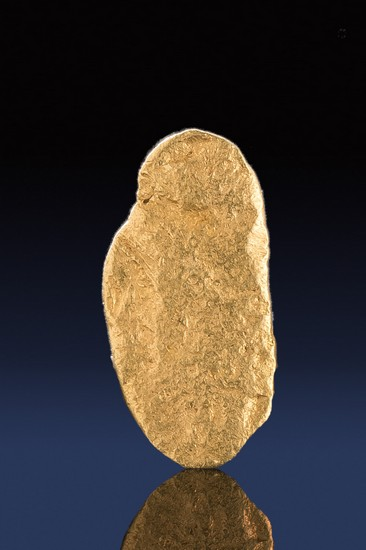 Oval Shape Natural California Gold Nugget