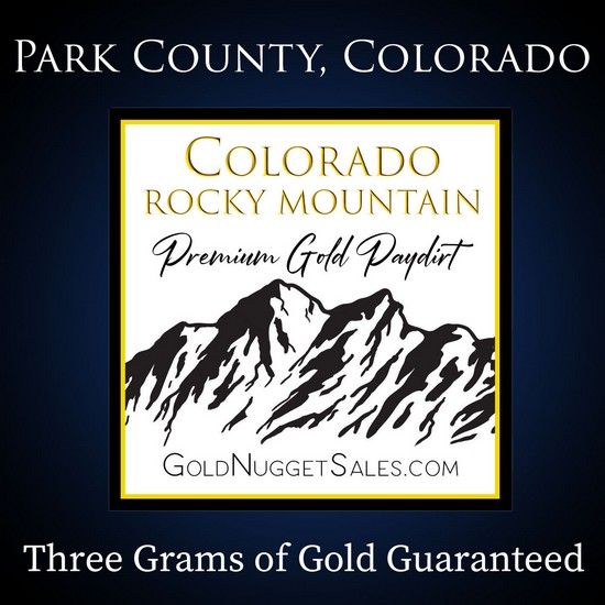 3 Pound Colorado Pay Dirt