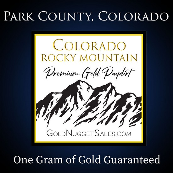 Colorado PayDirt - One Gram of Gold Guaranteed