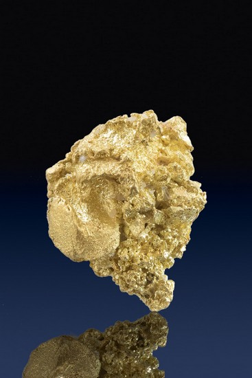 Intricate Crystalline Gold Nugget - French Gulch, California