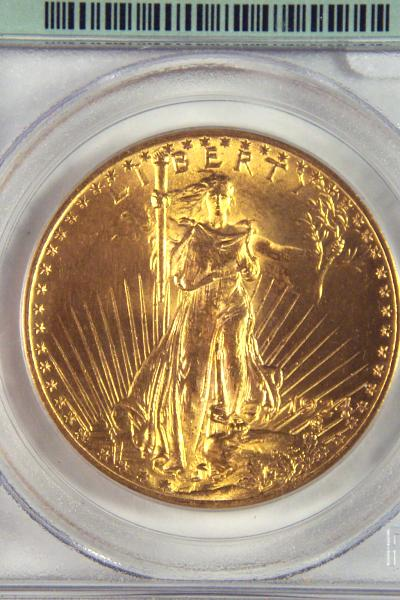 1924 St.Gaudens PCGS MS63 $20 Double Eagle Gold Coin