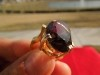 Vintage Smoky Topaz 14KT Gold Ring - Beautiful Ring