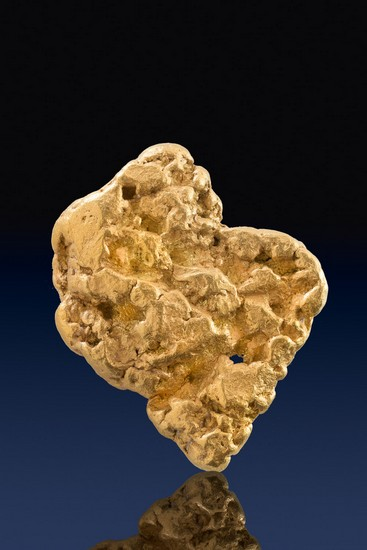 Large and Chunky Natural Alaskan Gold Nugget
