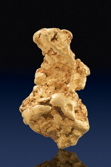 Heavy and Pure - Natural Gold Nugget from Australia -5.2 Troy oz