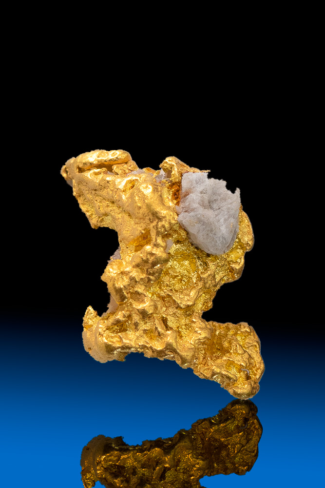 Z Shaped Natural Gold Nugget from Colorado - 1.31 grams