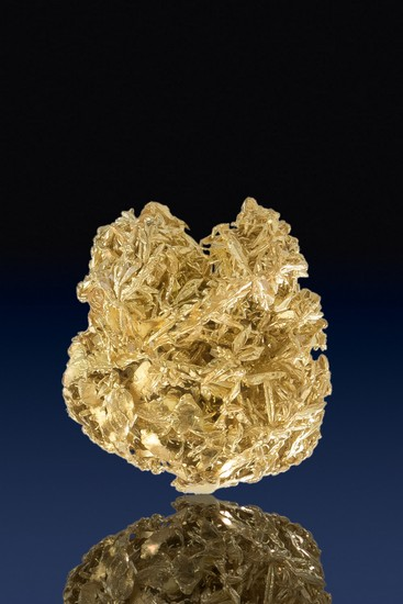 Brilliant Wire Gold Specimen - Olinghouse Gold Mine