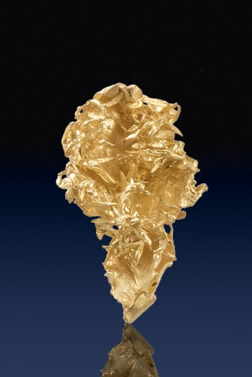 Leaf and Wire Gold Specimen - Olinghouse Gold Mine