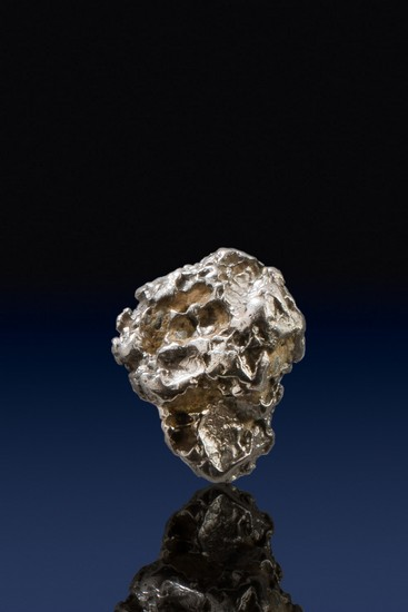 Chunky Pear Shaped Natural Platinum Nugget - Columbia