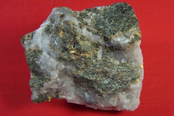 Rare 12 Ounce Gold In Skarn Specimen Ecuador 0 00