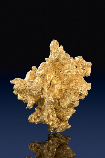Beautiful Color - Gold Nugget Crystal Specimen - Mariposa