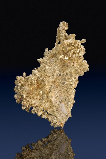 Very Rare - Electrum Gold Crystal from the Round Mountain Mine
