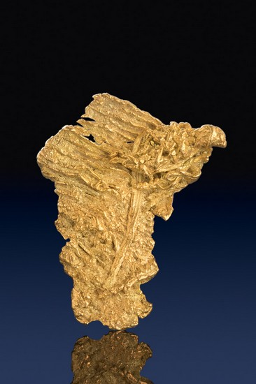 Unique Wire Gold Specimen - Liberty Gold Mining Claims
