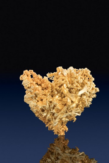 Heart Shaped Wire Gold Cluster - 10 Mile Mining Claims - Nevada