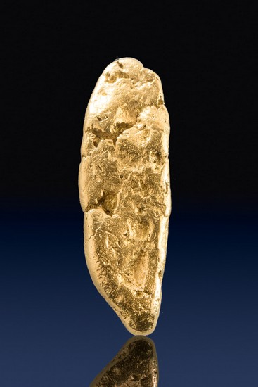Long and Tapered - Beautiful Natural Yukon Gold Nugget