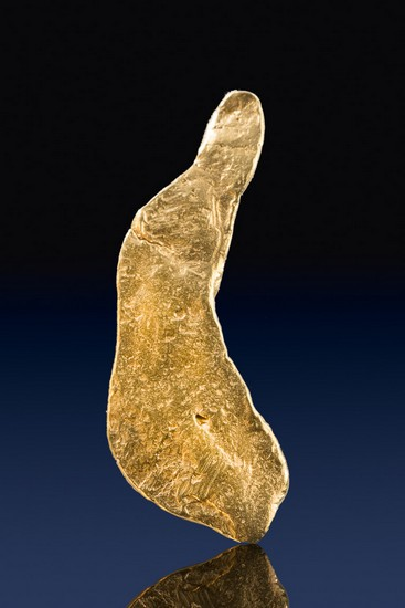 Long and Tapered - Natural Gold Nugget from the Yukon