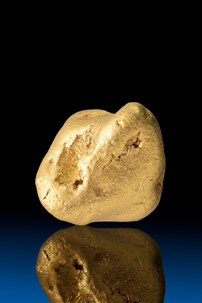 Nice Yukon Pure Gold Nugget - 21.2 grams