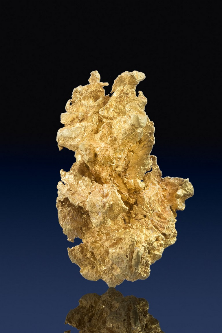 Large and Chunky - Crystalline Gold Nugget from Mariposa